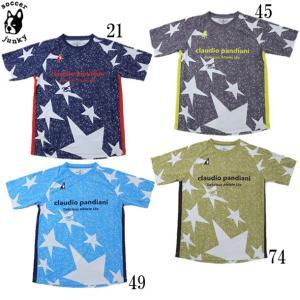 94USA+1プラシャツ SOCCER JUNKY ジュニア サッカージャンキー フットサル サッカー ウェア 21SS(CP21007K)|ピットスポーツ PayPayモール店