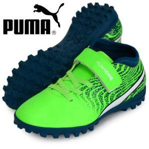 プーマ ワン 18.4 TT V JR PUMA プーマ   ジュニアサッカートレーニングシューズ18SS (104563-02)