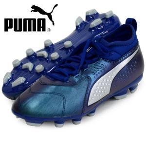 プーマ ワン 3 レザー HG PUMA プーマサッカースパイクシューズ18FW (104746-02)|pitsports