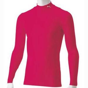 人気ブランドPUMA(プーマ)の男女兼用 サッカー インナー長袖シャツ。 吸水速乾素材を使用した、柔...