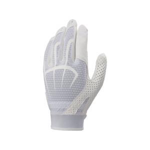 守備用手袋(片手) (ホワイト×ホワイト)  ASICS アシックス (BEG360-0101)|pitsports