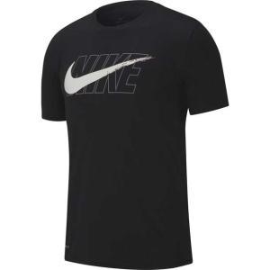 速乾仕様のTシャツスタイル。 Nike Dri-FIT メンズ トレーニング Tシャツは、ソフトな肌...