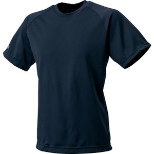 ソフトで吸汗速乾に優れた素材を使ったジュニアサイズ対応のクルーネックTシャツ。  素材:ポリエステル...