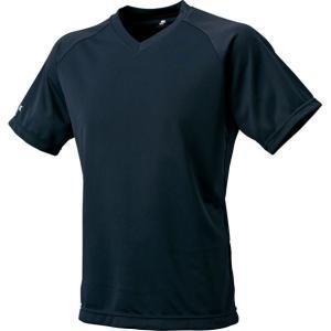 ソフトで吸汗速乾に優れた素材を使ったVネックTシャツ。  素材:ポリエステル100% 生産国:日本 ...