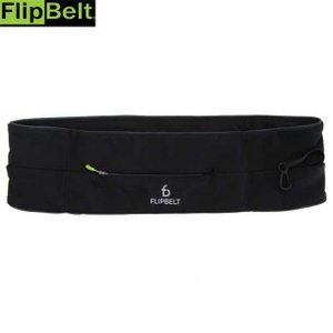 FLIPBELTジッパー BLACK  Flip Belt フリップベルト リクジョウバッグ (fz...