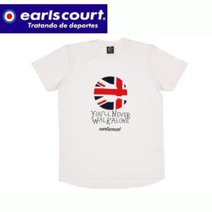 T/C フロッキーシンボルT シャツ  Earls court アールズコート カジュアル Tシャツ18SS(EC-T005)|pitsports