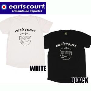 T/C アップルロゴT シャツ  Earls court アールズコート カジュアル Tシャツ18SS(EC-T007)|pitsports
