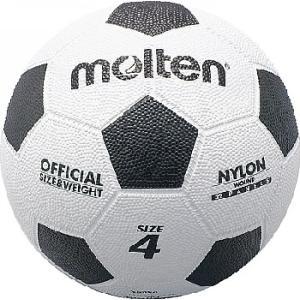 亀甲ゴムサッカーボール 4号球  molten モルテン サッカーボール (f4w)|pitsports