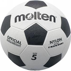 亀甲ゴムサッカーボール 5号球  molten モルテン サッカーボール (f5w)|pitsports