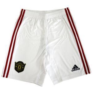 KIDS マンチェスターユナイテッドFC ホームレプリカショーツ  adidas アディダス ジュニア サッカー レプリカウェア 19Q3(FWU95-DX8947)|pitsports