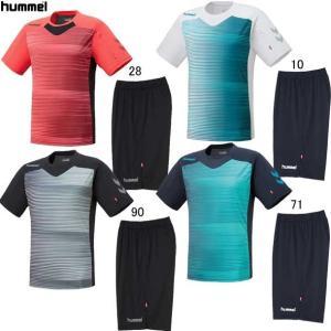 プラクティススーツ hummel ヒュンメルプラクティスシャツ 19SS(HAP1141SP)|pitsports
