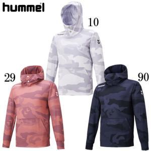 サーモスウェットフーディー hummel ヒュンメルスウェットシャツ19FW (HAP8212)