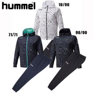 サーモスウェットジップアップフーディー・パンツ上下セット【hummel】ヒュンメル  スウェット20...