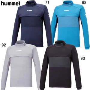 トレーニングハーフジップトップ hummel ヒュンメル  トレーニングウエア19SS (HAT4060)|pitsports