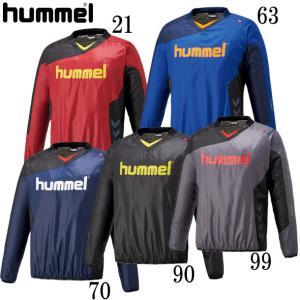 裏付きピステトップ hummel ヒュンメル  ピステシャツ18AW (HAW4181)|pitsports