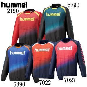 トライアルコート hummel ヒュンメル ウィンドブレーカーシャツ18AW (HAW4182)|pitsports