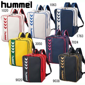エナメルバックパック  hummel ヒュンメル エナメルバッグ (HFB6064)|pitsports