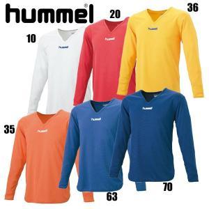 ジュニア長袖インナーシャツ 【hummel】ヒュンメル サッカー ウェア アンダー(インナー)シャツ (hjp5105)|pitsports