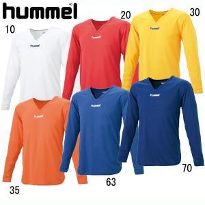 ジュニアL Sインナーシャツ  hummel ヒュンメル サッカー インナーウェア (HJP5140)|pitsports