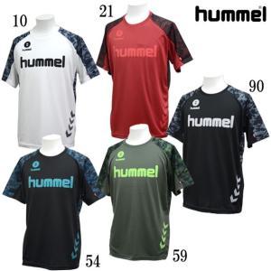 JR ドライ Tシャツ hummel ヒュンメル  ジュニア サッカー プラシャツ19SS(HJY2083)|pitsports