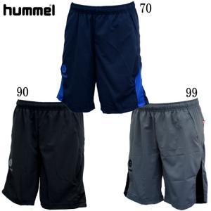 JR.ウーブンハーフパンツ hummel ヒュンメル サッカー パンツ ジュニア19SS(HJY6014HP) pitsports