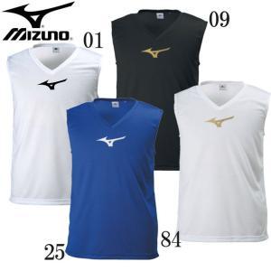 MIZUNO インナーシャツ  吸汗速乾性素材を使用したノースリーブのインナーシャツ。  ■素材:ポ...