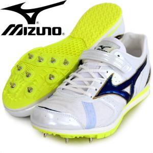 フィールド ジオA J 【MIZUNO】 ミズノ 陸上スパイク 走幅跳 三段跳 棒高跳専用 15SS (U1GA154136)|pitsports