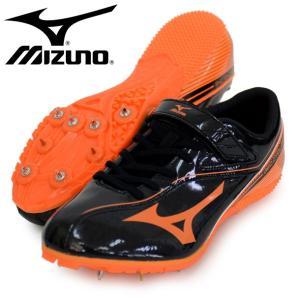 ジオサイクロン【MIZUNO】 ミズノ 陸上スパイク 100〜400m ハードル用17SS(U1GA171554)|pitsports