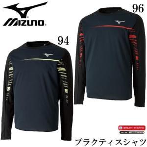 ブレスサーモ プラクティスシャツ長袖 MIZUNO ミズノ 陸上 ウェア シャツ 18AW(U2MA8502) pitsports