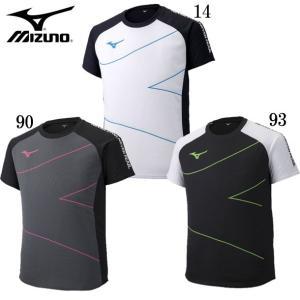 プラクティスシャツ(展示会限定品) MIZUNO ミズノ 陸上競技 ウェア トレーニングウェア Tシャツ 19SS(U2MA9020) pitsports