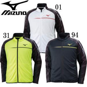 ウォームアップシャツ(メンズ) MIZUNO ミズノ 陸上競技 ウォームアップシャツ18SS(U2MC8010) pitsports
