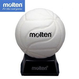 記念品用 バレーサインボール ホワイト 【molten】モルテン バレー マスコット サインボール (V1M500-W)