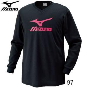 プラクティスシャツ(長袖) MIZUNO ミズ...の詳細画像1