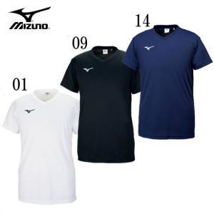 プラクティスシャツ MIZUNO ミズノ バレーボールウェアー 半袖Tシャツ 18AW(V2MA70...