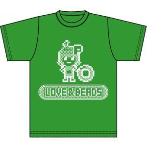 ピクセルピコ公式 LOVE & BEADS オリジナル Tシャツ PP-LBT|pixelpico
