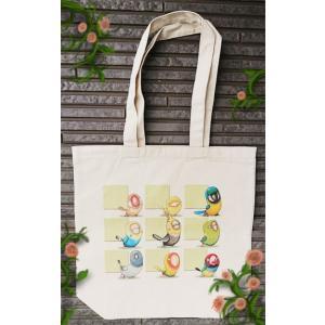 【代引不可】【ネコポス対応】鳥さんのトートバッグ001 グリーン|piyocyu-ash
