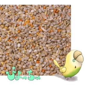 セキセイインコ秋用ブレンド 10kgx1 紙袋入|piyocyu-ash