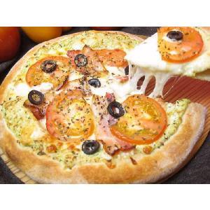 カッテージチーズとバジルPIZZA