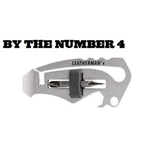 LEATHERMAN(レザーマン)BY THE NUMBER 4|pkwave