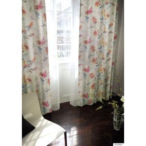 不思議の国のアリス ALICE in WONDERLAND 遮光カーテン(1枚)Rose garden(100×178)ディズニー 北欧 国産 日本製 送料無料|plaisier