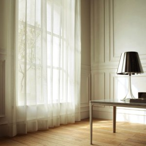 DESIGN LIFE 北欧デザイン ミラーレースカーテン(1枚)SORBET ソルベ(100×133)抗アレルゲン ウォッシャブル 見えにくい 日本製 送料無料|plaisier