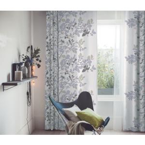 DESIGN LIFE 北欧デザイン遮光カーテン(1枚)ALVERO アルベロ(100×135)ウォッシャブル 形状記憶加工 国産 日本製 スミノエ 送料無料|plaisier