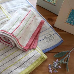 タオル産地を1世紀以上にわたって支えてきたタオル職人たちが、伝統の後晒製法で丁寧に仕上げたタオル。 ...