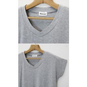 Tシャツ レディース 半袖 ゆるてろ素材 UVカット メール便 送料無料|plaisir-shop|03