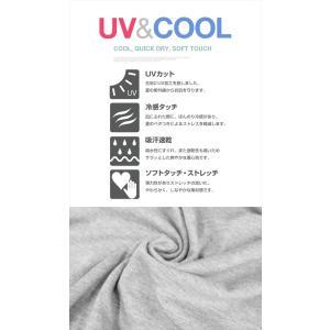 Tシャツ レディース 半袖 ゆるてろ素材 UVカット メール便 送料無料|plaisir-shop|05