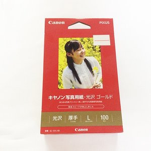 CanonGL-101L100キヤノンGL-101L100写真用紙・光沢ゴールドL判100枚印刷カメラデジタルカメラ|1