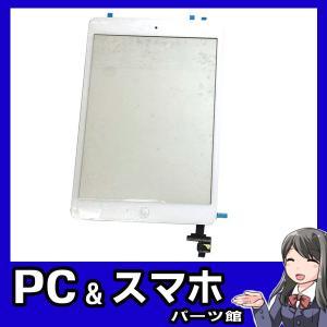 iPad Mini,Mini2のガラス、タッチパネル、ホームボタン1体型交換パーツです。 ガラス割れ...