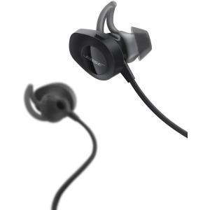 ワイヤレスのBose SoundSport wireless headphones。 パワフルなオー...