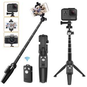 【カメラ&スマホ&アクションカメラ対応可】 ボール雲台の1/4ネジですからカメラ装着できます。またス...