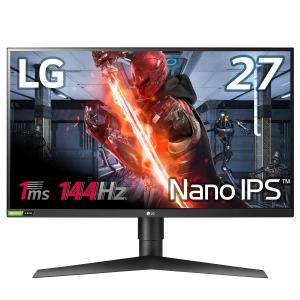 LG ゲーミングモニター 27GL850-B 27インチ/Nano IPS/1ms/144Hz/WQ...